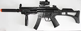 MP5 w/ Silencer & Grip Battery Powered Submachine with Gun