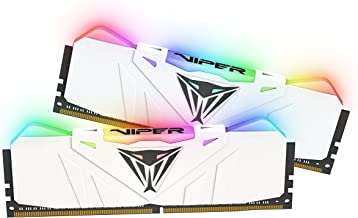 Patriot Viper Gaming RGB Series DDR4 DRAM 3200MHz 16GB Kit - White - RGB Color Profiles