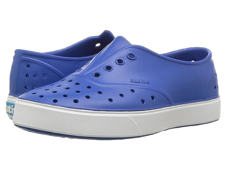 Native Kids Shoes Miller (Little Kid/Big Kid) (Victoria Blue/Shell White) Kid