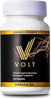 VOLT 亜鉛 シトルリン アルギニン マカ 120粒 栄養機能食品