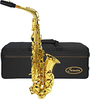 Montreux Sonata SAS701 Student Alto Saxophone with Case, Mouthpiece and Accessories