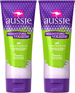 Aussie Headstrong Volume Texturizing Gel - 7 oz - 2 pk