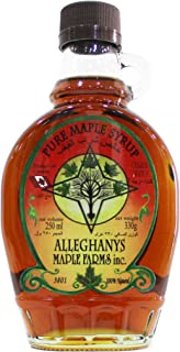 Alleghanys Pure Maple Syrup, Made in Canada - 330G