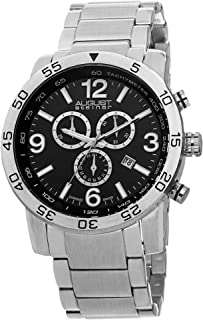 August Steiner Casual Watch Analog Display Swiss Quartz for Men AS8097SSB