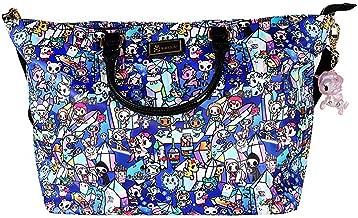 TOKIDOKI Crystal Kingdom All Over Tote Bag - Carryall Satchel
