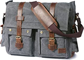 men's messenger bags 17 inch laptop
