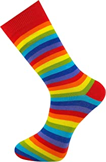 Calcetines de rayas unisex