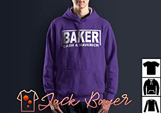 Cash & Maverick Baker T-Shirt Long T-Shirt Sweatshirt Hoodie