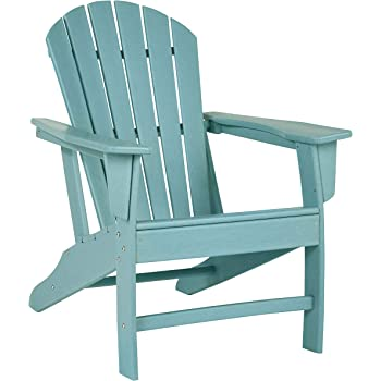 Signature Design by Ashley - Sundown Treasure Outdoor Adirondack Chair - Turquoise