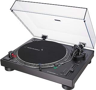 Audio-Technica AT-LP120X, Tocadiscos de Tracción Directa (Analógico y USB), Negro