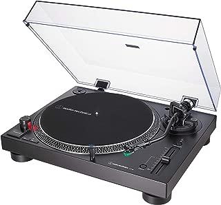 Tocadiscos AUDIO-TECHNICA AT-LP120XUSB/BK Color Negro, con USB Plug & Play