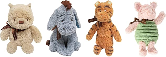 KIDS PREFERRED Classic Winnie The Pooh Set of 4 – Pooh, Piglet, Tigger and Eeyore
