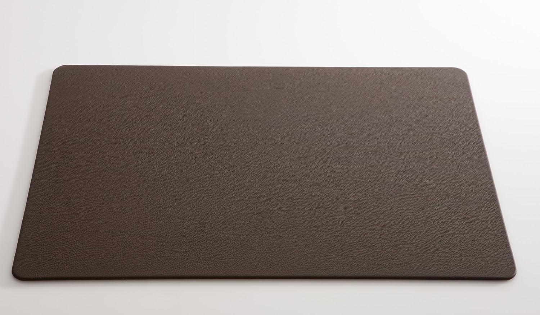 C. Matthey Schreibunterlage aus feinem italienischen Rindleder 45 x 63 cm, 0.5 cm dick, abgerundete Ecken, mocca - Handmade in Germany B00MMD420W   | Zuverlässiger Ruf