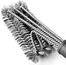 """BBQ Grill Brush Stainless Steel 18"""" Barbecue Cleaning Brush w/Wire Bristles & Soft Comfortable Handle - Perfect Cleaner & Scraper for Grill Cooking Grates"""