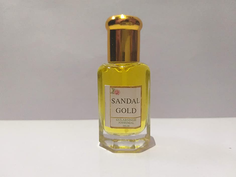 困惑ガラガラ民兵Sandal/白檀 / Chandan Attar/Ittar concentrated Perfume Oil - 10ml Beautiful Aroma