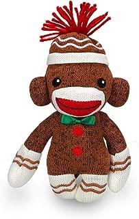 Plushland Adorable Gingerbread Sock Monkey Sockiez 6