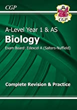 A-Level Biology: Edexcel A Year 1 & AS Complete Revision & Practice (CGP A-Level Biology)