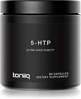 Ultra High Strength 5HTP Capsules - 99%+ Pharmaceutical Grade - 12:1 Concentrated Extract - The Highest Purity 5 HTP Avail...