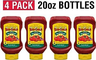 Red Gold Ketchup, (Regular) Squeeze Bottle, 20oz Bottles (Pack of 4)