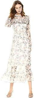 Glamorous womens Floral Prairie Maxi Dress Dress