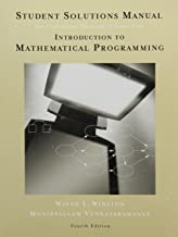 Student Solutions Manual for Winston's Introduction to Mathematical Programming: Applications and Algorithms, 4th (Operations Research)