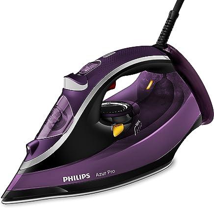 Philips Azur Pro GC4887/30 - Plancha Ropa Vapor, 3000 W, Golpe Vapor 230 g, Vapor Continuo 50 g, Suela Tionic Glide, Antical Integrado, Autoapagado