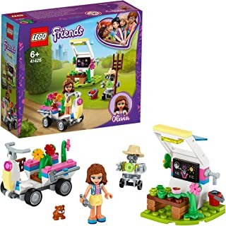 LEGO Friends 41425 Olivia's Flower Garden Building Set with Mini Doll, Robot Figure and Accessories Toy for Girls, 6+ Year...