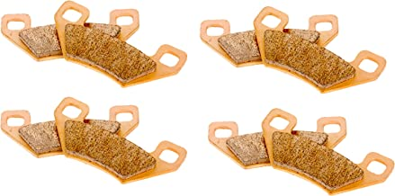 Race Driven Front & Rear Sintered Metal Severe Duty Brake Pads for Arctic Cat Wildcat Prowler Crew Hawkeye
