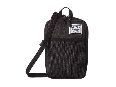 Herschel Supply Co. Sinclair Large (Black Crosshatch) Cross Body Handbags