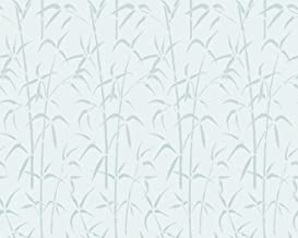 d-c-fix 338-8023 Privacy Glass Reusable Static Cling Window Film, Bamboo, 26