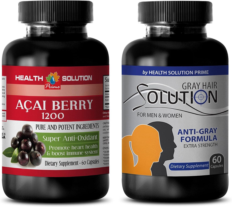 antioxidant Energy Drink - ACAI Max 58% OFF aca Berry Solution Tampa Mall Hair Grey