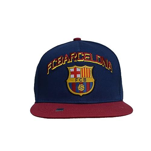 Fc Barcelona Snapback Adjustable Cap Hat – Blue - Maroon -Red New Season 8acdf2f3995