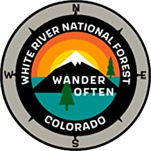 White River National Forest Colorado - Wander Often - 3.5