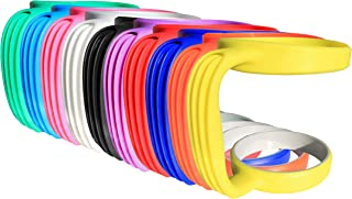Grip-It YETI Tumbler Cup Handle for 30oz Rambler - Lightweight, Spill Proof Grip For RTIC (Old Version) Stainless Steel Tumblers, SIC, Ozark Trail & Travel Coffee Mugs or Flask - Electric Yellow