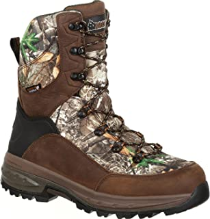 Men's Grizzly Waterproof Insulated Outdoor Boot Round Toe - Rks0364
