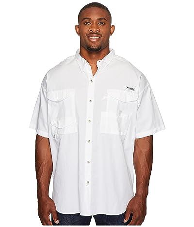 Columbia Big Tall Bonehead S/S Shirt (White) Men