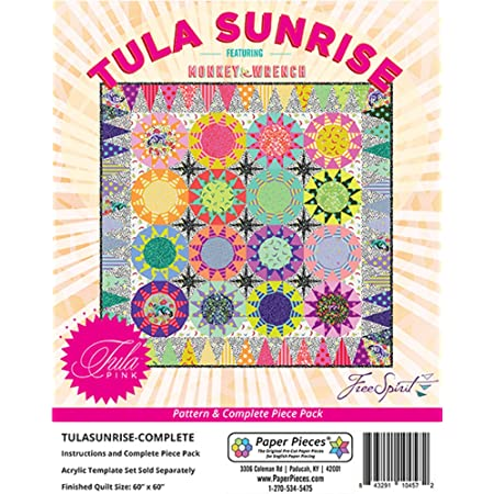 Paper Pieces Tula Sunrise Complete Pattern Pack English