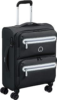Delsey Paris CARNOT Hand Luggage, 55 cm, 34.4 liters, Black (Schwarz)