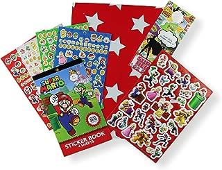 Super Mario Stickers - Raised 3D Stickers and Door Hanger in Specialty Gift Bag