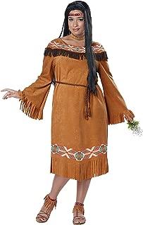 California Costumes Women's Plus Size Classic Indian Maiden