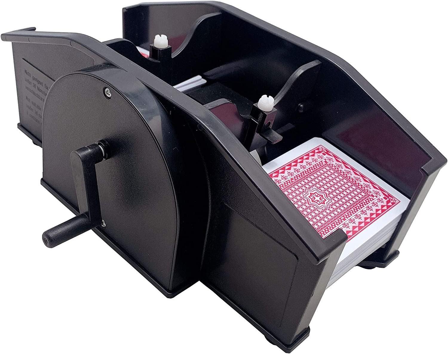 Card Shuffler for Poker Deck Playing trust Bridge Cards Detroit Mall Manual and P