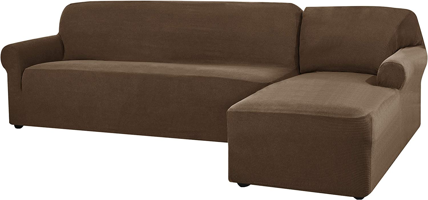 Max 89% OFF CHUN YI Stretch Sectional Couch Covers Shaped Soft Slipco All items in the store Sofa L