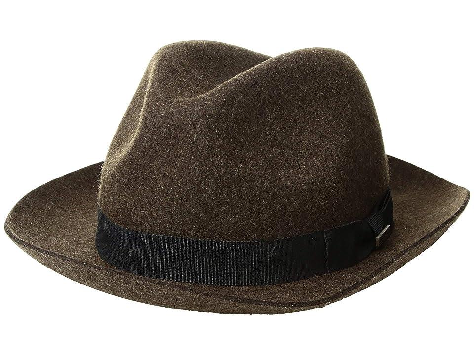 Pendleton Classic Fedora (Olive Mix) Fedora Hats