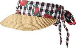 Betsey Johnson - Gingham Visor