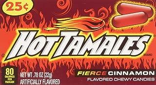 Hot Tamales (1 Box of 24 - .78oz Individual Packs)