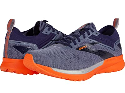 Brooks Ricochet 3 (Navy/Grey/Scarlet) Men