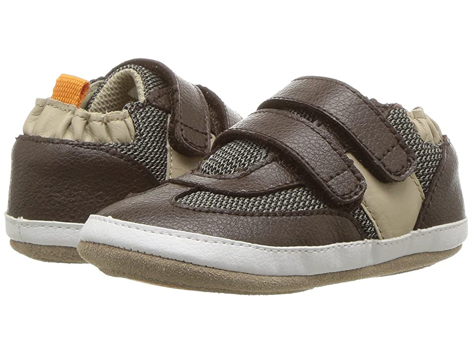 Robeez Active Alex Mini Shoez (Infant/Toddler) (Espresso) Boy