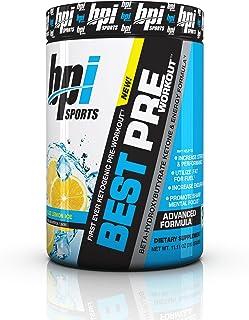 BPI Sports -Ketogenic Pre-Workout Supplement, Blue Lemon Ice, 11.11 Ounce