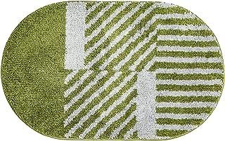 """Door Mat Indoor Outdoor Durable Rubber Doormat, 19.7""""x31.5"""", Waterproof, Easy Clean Striped Door Floor Mat for Entry, Bedr..."""