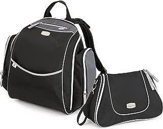 Chicco Urban Backpack and Dash Bag, Black